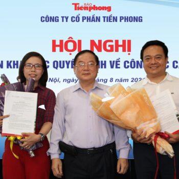 Công ty Cổ phần Tiền Phong bổ nhiệm nhân sự điều hành